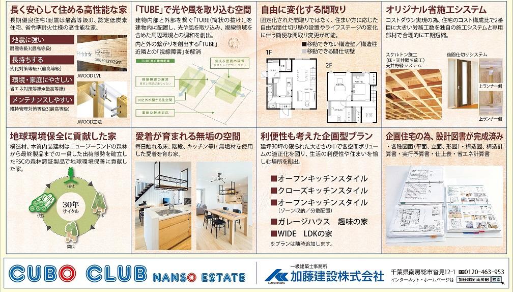 土地+建物=CUBO CLUB